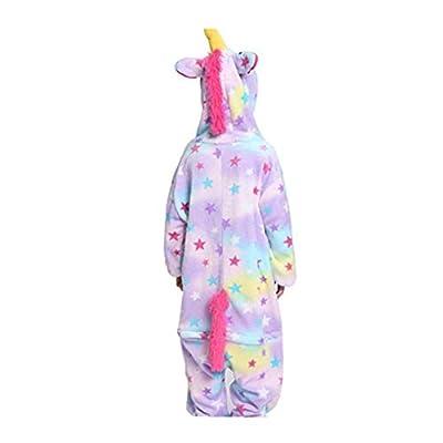 La Manera Linda Hore Pijama De Franela Suave De Los Niños Unisex Hore Lindo Cosplay Onesie Púrpura Pijamas Práctica Herramienta Utilidades