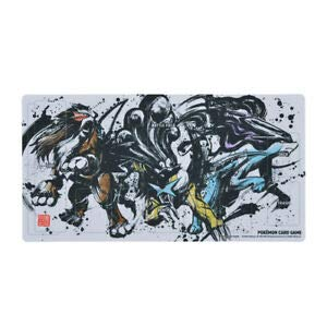 Pokemon Card -01 Playmat Entei & Suicune & Raikou 2020-01 Japanese