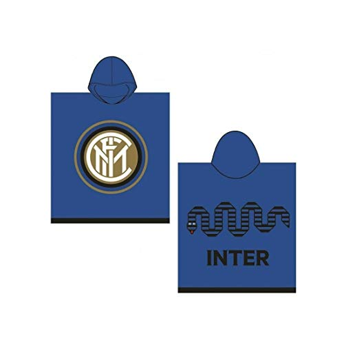 Inter,PONCHO IN SPUGNA ,Taglia Unica,blu