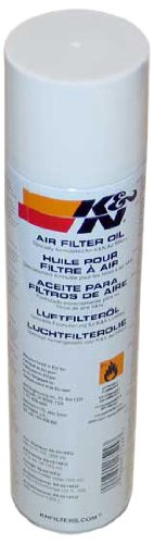 K&N 99-0516EU KFZ und Motorrad Air Filter Oil - 14.36 fl oz/408 ml Aerosol - Non-US