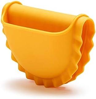 Monkey Business Mezzelune - Manopla de horno de silicona resistente al calor - Manoplas de silicona para ollas grandes - Protege tus manos con almohadillas para dedos en forma de pasta - 1 unidad