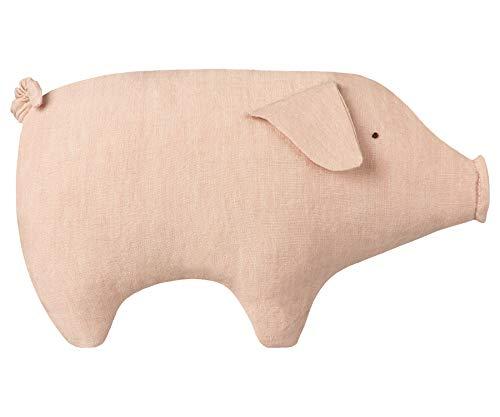 Maileg - Kleines Schweinchen - Höhe: 13 cm - Leinen, Polyester