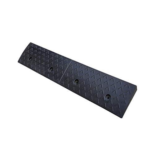 Gute Qualität 3-7cm Gummi Threshold-Pad, Verschleißschutz-Anti-Rutsch-Fahrzeug Rampen Enterprise Bank Step Pad Haupteingang Rollstuhlrampen praktisch (Color : Black, Size : 100 * 25 * 7CM)