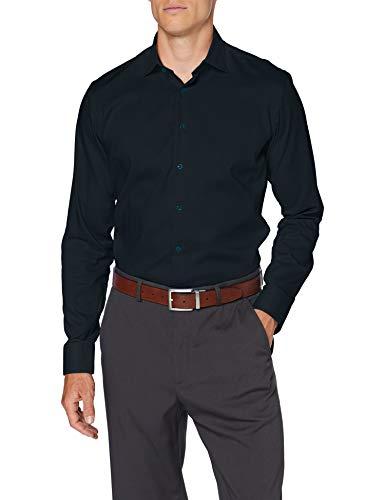 Seidensticker Herren Business Hemd - Bügelleichtes Hemd mit sehr schmalem Schnitt - X-Slim Fit - Langarm - Kent-Kragen - Brusttasche - 100{1aa2eb48ac81d934c4f8adbad6fbdf1dd739d3089ce860b97cf2251492a7479d} Baumwolle