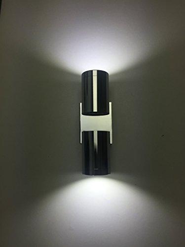 SpiceLED mirrorled-1 Applique murale avec 14 2 x 7 W blanc IP44 Lampe murale Outdoor Lampe LED Effet