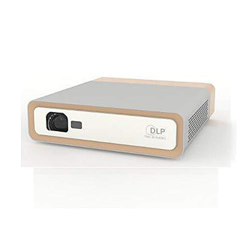 LOKS Inicio HD portátil Mini proyector, Inteligente WiFi Bluetooth inalámbrica en la Pantalla del proyector, la resolución es 1920X1080, Brillo es 1100ANSI, Altavoz es 5W