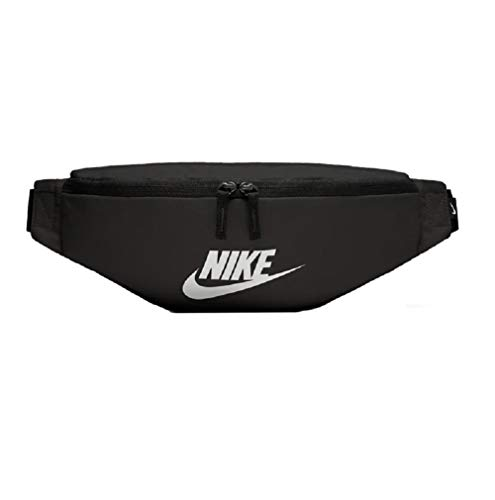 Nike Heritage Hip Bag Gürteltasche (one Size, Black/White)
