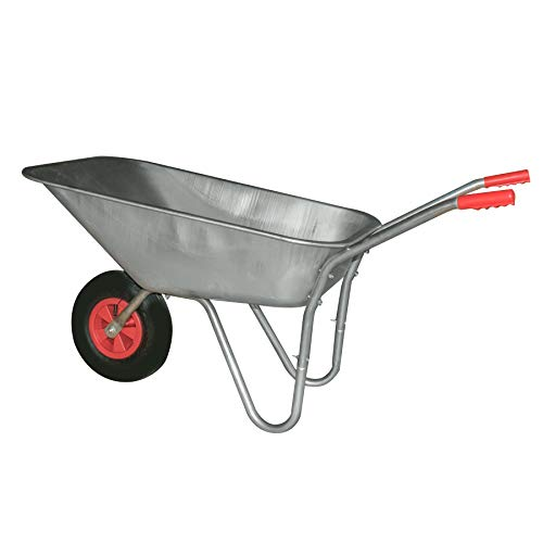 KCT 80L Garden Steel Wheelbarrow