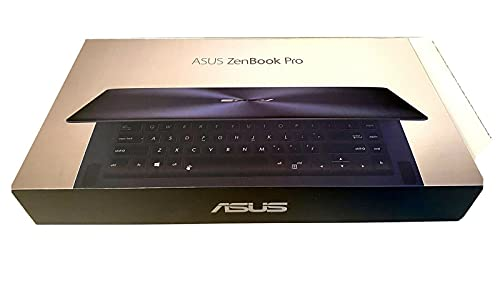 "Asus ZenBook Pro UX550VE-XH71 15.6"" Full HD Notebook Computer, Intel Core i7-7700HQ 2.80GHz, 16GB RAM, 512GB SSD, NVIDIA GeForce GTX 1050 Ti 4GB GDDR5, Windows 10 Professional, Matte Black"
