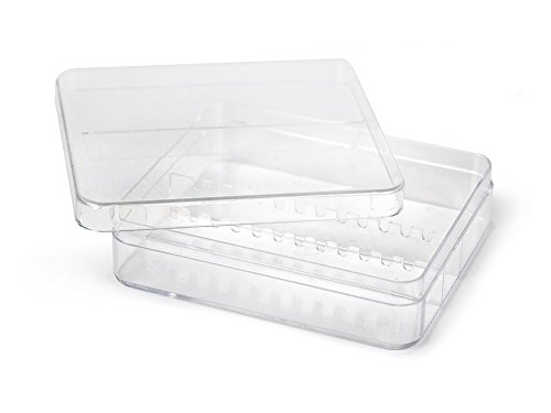 Nailtechnik Plastik Box für 12 Bits - Fräser Bit Aufsatz Zubehör