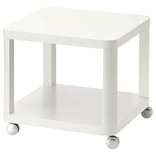 IKEA ASIA TINGBY Beistelltisch auf Rollen weiß
