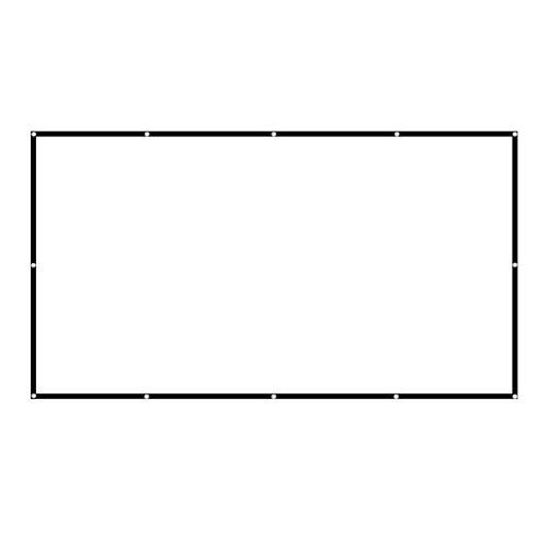 Sangmei Tela do projetor de 150 polegadas widescreen 16: 9 tela de projeção portátil anti-vinco dobrável interna e externa projetor tela de filmes para home office CV#