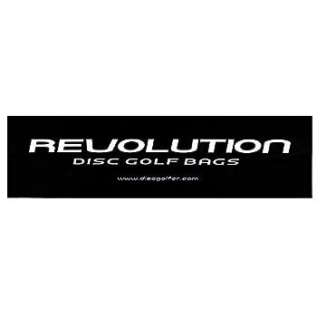 Revolution Disc Golf Bags Logo Bumper Sticker