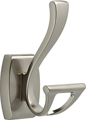 DELTA Dansant Towel Hook, Robe Hook Satin Nickel Towel Holder for Bathroom, Bathroom Accessories, 135241