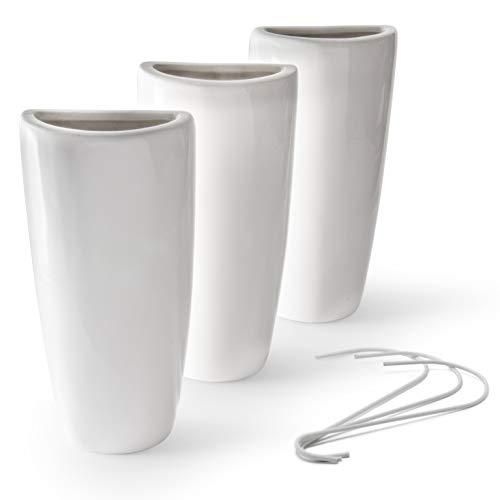 Ligano® Heizkörper Luftbefeuchter Modern – Keramik Wasserverdunster für die Heizung – 3 Stück