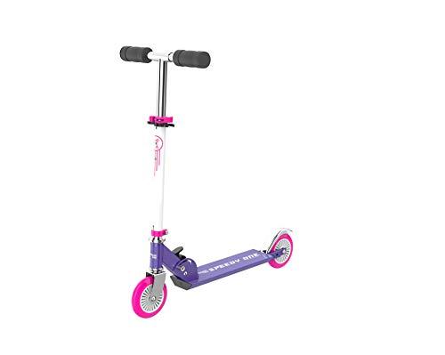 INVIDA Speedy One Kids-Racer Kinder Scooter Roller Kickscooter Funscooter Cityroller (Pink)