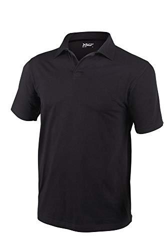 Eurowear Uomo - Polo - Shirt - EM109 - Nero