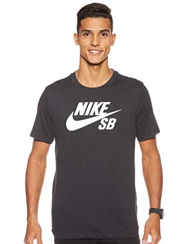 Nike Herren SB Dri-Fit T-Shirt, Black/White, L