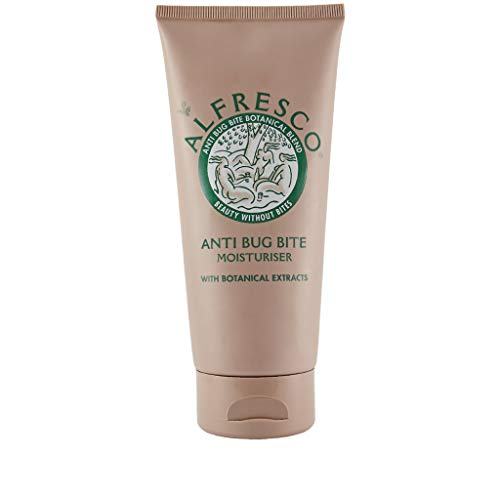 Alfresco Natural Anti Bug Bite CLASSIC Moisturiser (200ml) with over 22 Essential Oils - DEET Free - Suitable for Children and Babies (200ml)