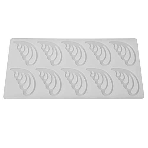 Herramientas De Decoración De Pasteles Diy 3D Forma De Ala Molde De Silicona Cupcake Molde De Silicona Molde De Chocolate Decoración Molde Para Muffins Plantilla Para Hornear Transparente