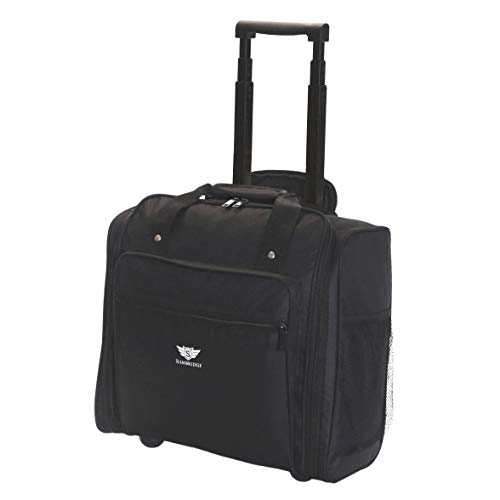 Slimbridge Orlando Under Seat Cabin Approved Trolley Bag, Black