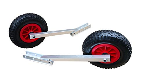 Brocraft Boat Launching Wheels / Boat Launching Dolly with 12 Inch Wheels