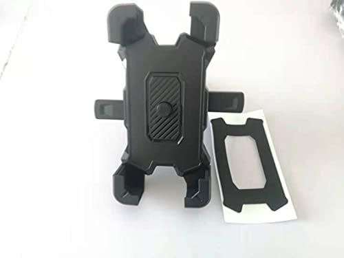 Dongge - Supporto per telefono da moto, per telefono cellulare, per scooter 11/telefono 11 Pro Max, S9, S10 e altri 4,7 - 17,3 cm, colore: Nero