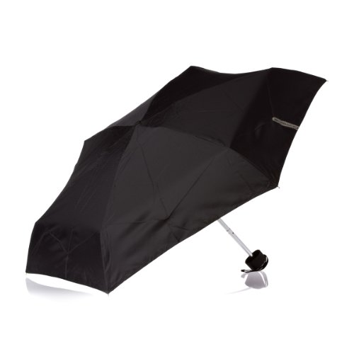 Lifeventure Black Trek Umbrella Telescoop Klein Unisex Volwassen One Size