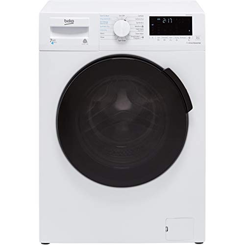 Beko WDB7426R1W 7/4kg 1200rpm Freestanding Washer Dryer - White