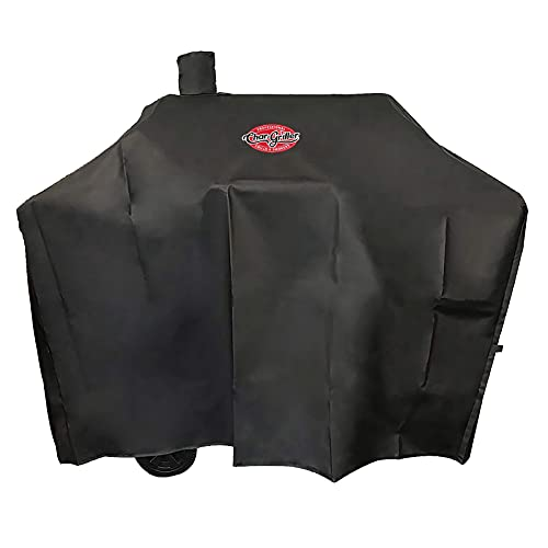 Char-Griller 2187 Traditional Charcoal Grill Cover, Black