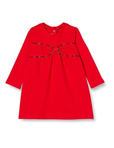 Chicco Abito Manica Lunga Vestito, Rosso, 086 Bimba