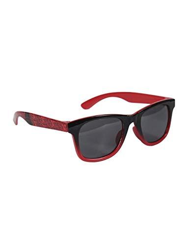 Star Wars - Gafas de sol con funda para niño Darth Vader rojo y negro TU (3 a 10 años) rojo/negro Talla única