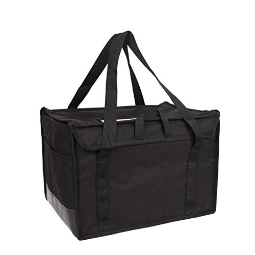 """RediHEAT HP142 Heated Food Delivery System, Regular Bag, 20"""" Length x 13"""" Width x 13"""" Height, Black"""