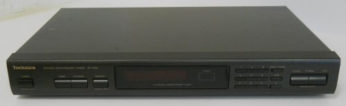 Technics ST-K55 Stereo Synthesizer Tuner AM FM Radio 30 Channel Preset Auto Tuning