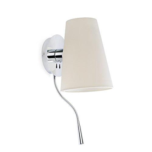 Faro Barcelona 29996 LUPE Lampe applique chrome avec lecteur LED