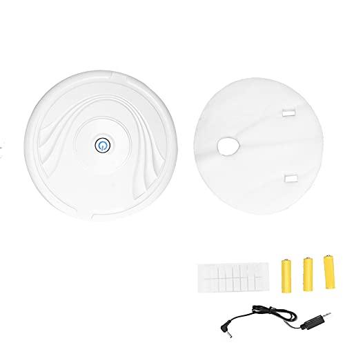 Aspiradoras robóticas, robot aspirador de uso a largo plazo para uso doméstico(Rechargeable white, transparency)