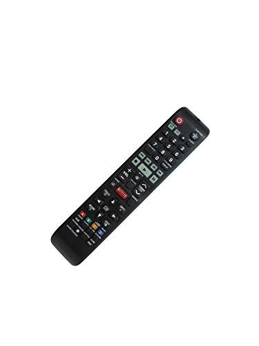 Controle remoto de substituição HCDZ com chave Netflix para Samsung AH59-02406A HT-E4500K HT-E5530K HT-E5550K HT-ES6550W 5.1CH Blu-ray Home Entertainment System