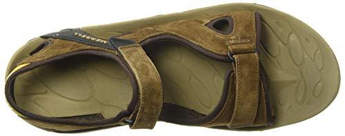 Merrell Men's Kahuna 4 Strap Hiking Sandal, Brown - 12 Medium