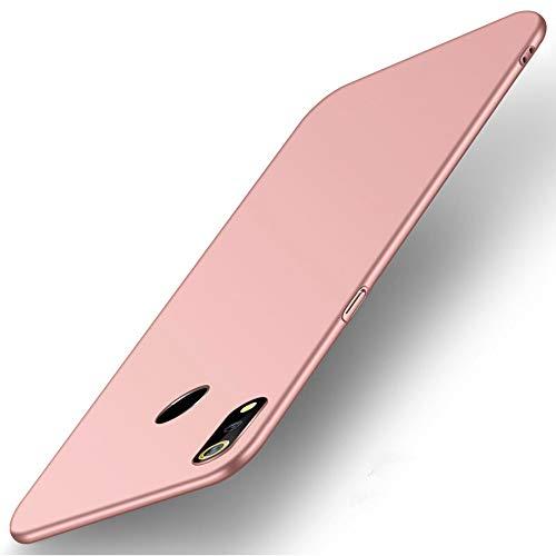 SPAK ZTE Nubia Z18 Hülle,Neuer Qualitäts Schutzhülle Harter PC rückseitiger Abdeckungs Handyhülle Fall Cover für ZTE Nubia Z18 (Rose Golden)