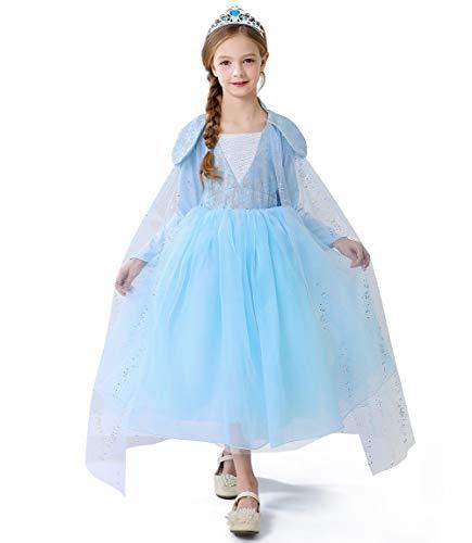 Disfraz de princesa Belle para niña