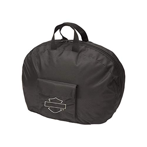 Harley Davidson Half Helmet Bag, Black, One Size