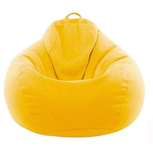 Sheeouis Sofá simple para cama individual, algodón y lino duradero, apto para sala de estar, balcón, dormitorio