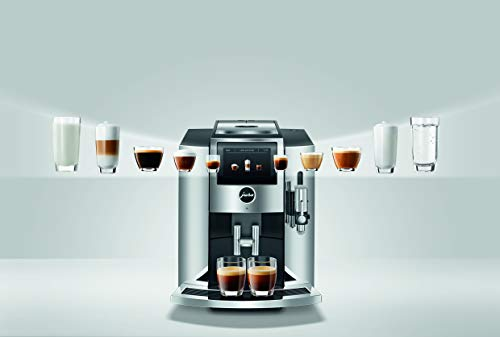Jura S8 drink options