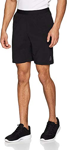 Reebok Men's Speedwick Speed Shorts, Black, Medium