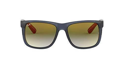 Ray-Ban Rb4165f Justin - Gafas de sol rectangulares de ajuste asiático