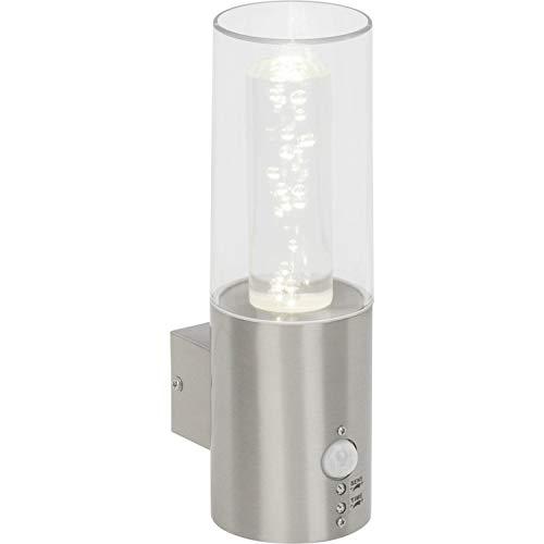 Brilliant g96285/82Arctic applica esterna con sensore LED, Metallo/Plastica, incasso, 7W, acciaio