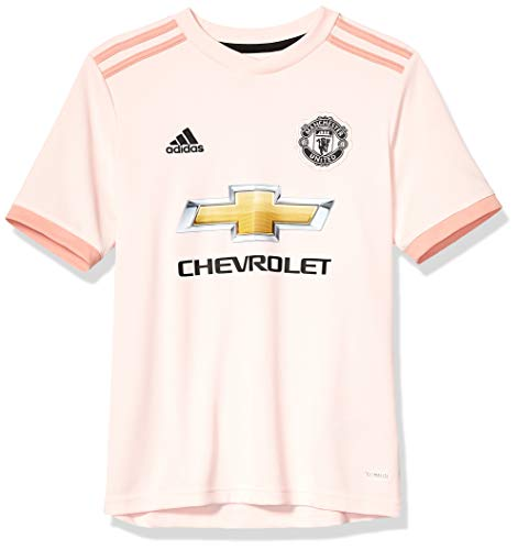 World Cup Soccer Manchester United Soccer Youth Manchester United FC Away Jersey, Small, Icey Pink