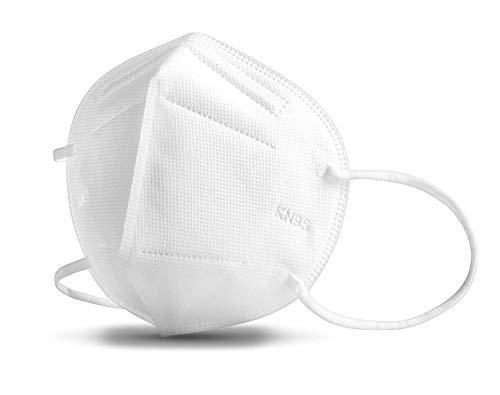 Ichen - Protección facial para la cara, 10 unidades, anticontaminación, antipolvo y transpirable, para exteriores, jardín, fábrica, protección laboral