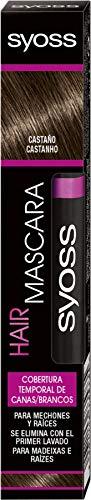 Syoss - syoss temporary coverage hair mascara brown 16ml