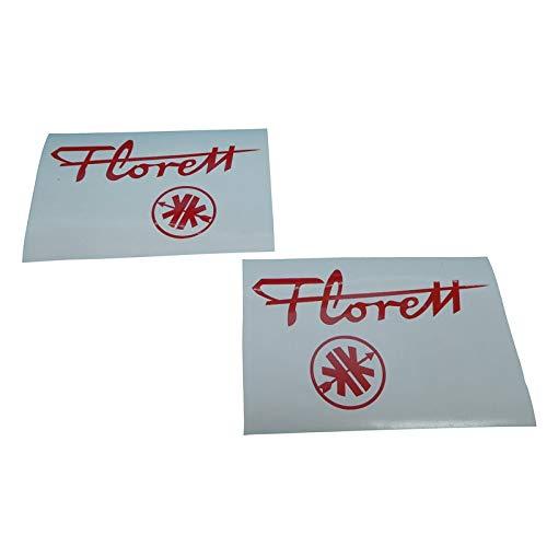 Kreidler Florett K54 OM Eiertank Aufkleber Schriftzug mit Logo, Ersatzteil Sticker oder als Tank Schriftzug Dekor. Zum Oldtimer Restaurieren von Lack und Verkleidung. Alternativ zum Motorrad Emblem